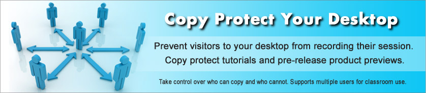Copy Protection for Shared and Remote Desktop Conferences