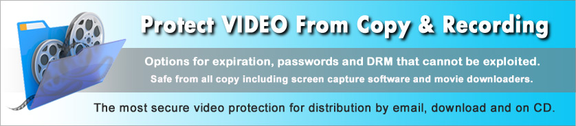 Copy Protection and Rights Management (DRM) for Video